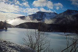 Winter am Spitzingsee